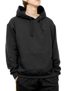 【新品】 XL ブラック JERZEES(ジャージーズ) プルオーバー パーカー メンズ 裏起毛 無地 8.0オンス スウェット