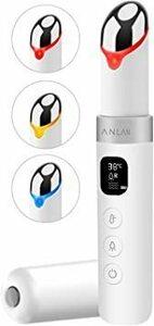 新品ANLAN 目元ケア 美顔器 イオン導入 温熱ケア 超音波美顔器 3種類光エステ イオン導入美顔器 振動機能 L4IGE