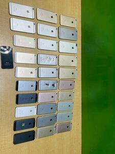 iPhone ジャンク品 まとめ売り iphone7/6s/6/5 30個 中古現状品!!