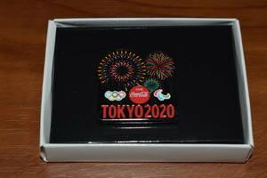 最新★9/30 届きたて★コカ・コーラ★東京 2020 記念ピン 花火★未使用★新品★東京2020 オリンピック パラリンピック★ピンバッジ