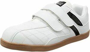 ホワイト 25.5 cm [ヘイギ] 安全靴 セーフティーシューズ マジック 先芯入り スニーカー 作業靴 HG-1516M メ