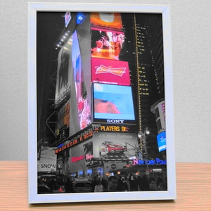 【 2Lサイズ室内用インテリア 】ニューヨーク 写真 ポスター フレーム付