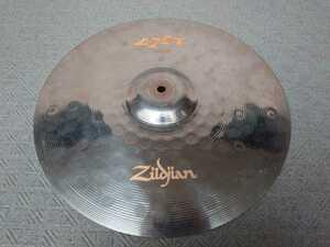 ジルジャン Zildjian ZXT チタンコーティング16インチ クラッシュシンバル 中古品 PROTECTION RACKETケース付
