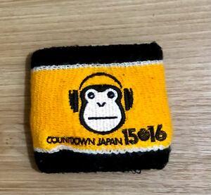 リストバンド COUNTDOWN JAPAN 15/16 オフィシャルグッズ