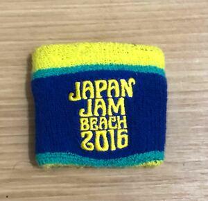 リストバンド JAPAN JAM BEACH 2016 オフィシャルグッズ