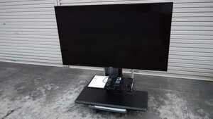 SONY ソニー BRAVIA 4K 55V型液晶テレビ KJ-55X8500D 2017年製 テレビスタンド付き ハヤミ工業 KF-850 状態良好 直接引取り場歓迎
