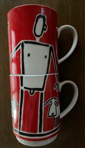 マグカップセット コーヒーマグカップ ティーマグカップ ラブラヴ