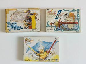 ファイナルファンタジー 1,2 & 3 ファミコン / final fantasy 1,2 & 3 for famicom NES