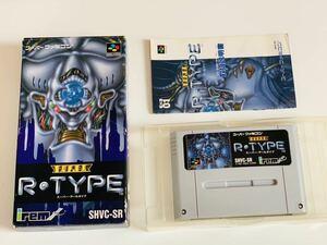 スーパーR TYPE SFC スーパーファミコン/ R type super famicom jp