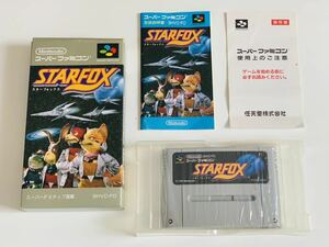 スターフォックスSFC スーパーファミコン / Star fox super famicom jp