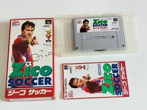 ジーコサッカーSFC スーパーファミコン/ Zico soccer super famicom jp