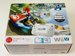 【中古】Wii U マリオカート8 セット シロ WiiU shiro / Nintendo WiiU Mrio kart set