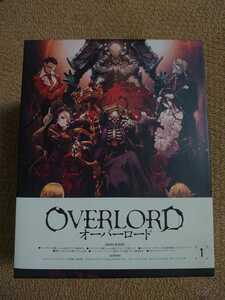 Blu-ray オーバーロード 1期 初回限定版 全6巻セット BOX付 (小説、ワールドガイドなし) ブルーレイ