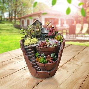 クリエイティブ おしゃれ 多肉植物植物ポット ガーデニング フラワーポット 多肉植物 寄せ植え 鉢