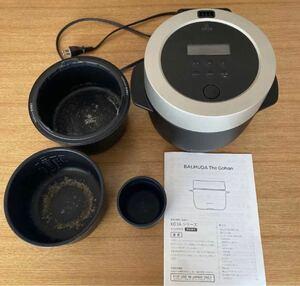 バルミューダ 炊飯器 K03A-BK