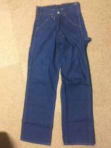 60's 70's USA製 ビンテージ ELY エリー ペインターデニムパンツ vintage work pants 濃紺 インディゴ 42TALON ストアブランド ワーク