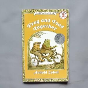 Toad and FROG 英語絵本 がまくんとかえるくん アーノルド・ローベル TOGETHER ふたりはともだち