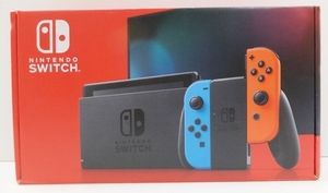 【簡易動作確認済】Nintendo Switch 本体 (ニンテンドースイッチ) Joy-Con(L)ネオンブルー/(R) ネオンレッド ③