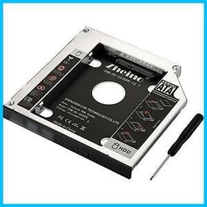 ★本日限定★SATA/HDDマウンタよりCD/DVD 12.7mmノートPCドライブマウンタ 光学ドライブベイ用 に置き換えます Zheino AA987 CADDY