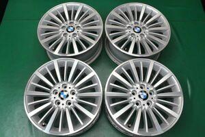 引取歓迎 中古ホイール BMW 3シリーズ F30 F31 4シリーズ F32 F33 純正 18インチ 8J +34 PCD 120 5H 5穴 1台分 ノーマル アルミ 6796249
