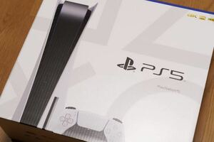 PlayStation5(PS5、プレイステーション5)本体 通常版ディスクドライブ搭載モデルCFI-1100A01 新品未使用品