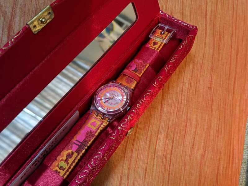 swatch 母の日モデル