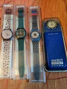 swatch 4本