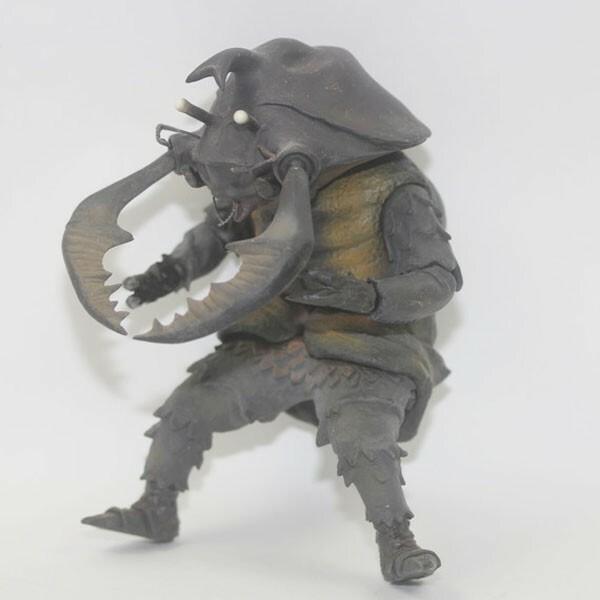 X-PLUS エクスプラス 円谷プロ 磁力怪獣 アントラー 1966 フィギュア ソフビ 全高約19cm ウルトラマン 中古 #15997