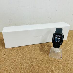動作品 Apple Watch Series5 40mm GPS+Cellularモデル MWX82J/A スペースブラックステンレススチールケース ブラックスポーツバンド i5501