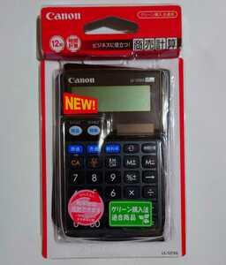 CANON キヤノン LS-12TSG 手帳型 商売計算電卓 12桁