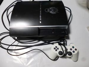 SONY PS3 プレイステーション3 ファイナルファンタジー7限定 クラウドブラック 動作確認済み