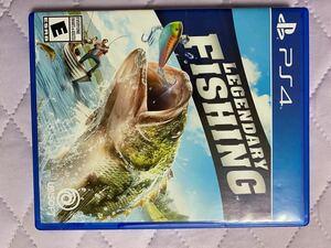 プレステション4 LEGENDARY FISHING PS4ソフト