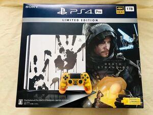(未開封)PlayStation 4 Pro DEATH STRANDING LIMITED EDITION