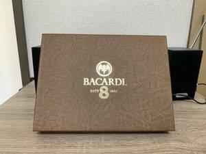 【ノベルティ/希少/新品・未使用品】BACARDI 葉巻ケースセット【2本収納/カッター付】