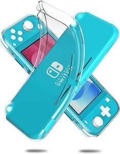 #W7 Nintendo switch Lite ケース カバー クリア TPU透明保護 ソフトケース 薄型 耐衝撃 完全保護デザイン 柔らかい手触り 超薄版 クリア