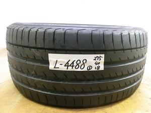 L-4488 溝あり 中古タイヤ ヨコハマ ADVAN sport V105 275/40R18 103Y (1本)