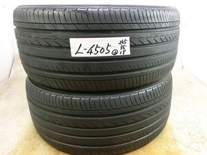 L-4505 溝あり 中古タイヤ ヨコハマ ADVAN dB 245/35R19 91W (2本)
