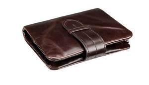 薄型折りたたみ 本革牛革 ブランド二つ折り財布 ンズ財布メンズ 二つ折り レザー薄い カード 大容量軽い 軽量 コンパクト 小銭入れ