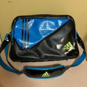 adidas エナメルバッグ スポーツバッグ ショルダーバッグ