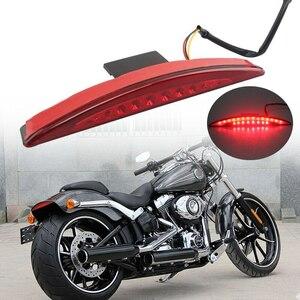 ★赤字覚悟★オートバイ◆ハーレーダビッドソン ブレイクアウトFXSB 2013-2017用 LEDテールライト リアフェンダー ブレーキランプ TBB149
