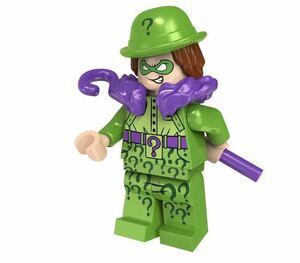 1体 リドラー バットマン dcコミック  ミニフィグ LEGO 互換 ブロック ミニフィギュア レゴ 互換 k-75