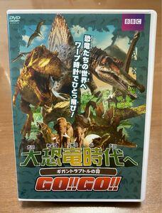DVD 大恐竜時代へGO GO ギガントラプトルの羽