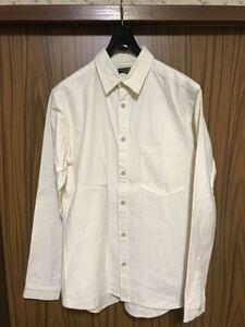 【セール】FRANK LEDER フランクリーダー ヴィンテージベッドリネンシャツ Mサイズ ドイツ製 MILITARY EURO WORK プリズナーシャツ