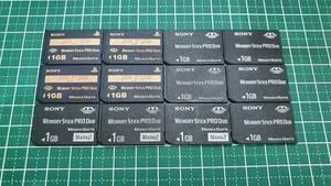 SONY メモリースティック PRO Duo mark2 1GB 12枚 メモリーカード 安心!ネコポス送料無料☆