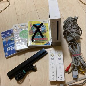 Wii本体 ソフト コントローラーセット