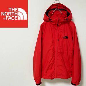 THE NORTH FACE ノースフェイス マウンテンパーカー ナイロンジャケット レッド メンズ M