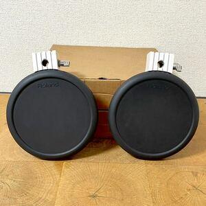 動作未確認 Roland/ローランド 電子ドラム V-drums パッド PD-7 2個セット