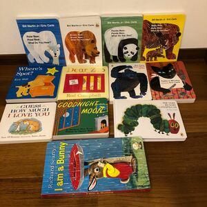 世界大人気英語絵本12冊セット ボードブック しかけ絵本