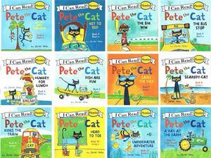 ミニ英語絵本12冊セット フォニックス Pete the cat
