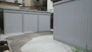松戸市新作バイクガレージ